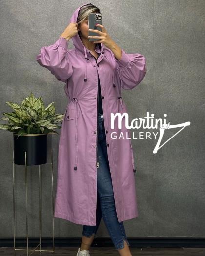 بارانی استین سنبادی مدل مارتینی کد 362
